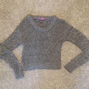 Sweaters - Crop Knit Sweater